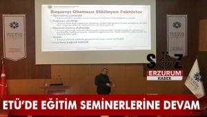 ETÜ'de Eğitimde Motivasyonu Etkileyen Unsurlar Konferansı Düzenlendi