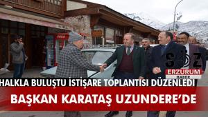 MHP'den Uzundere'de İstişare Toplantısı