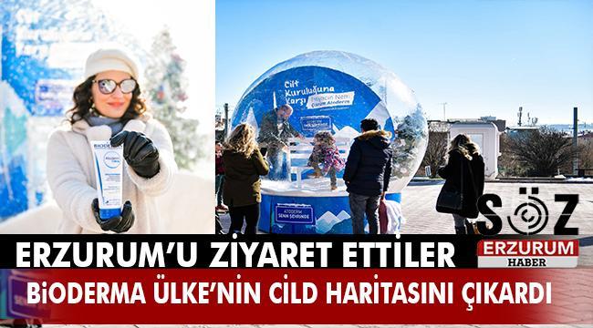 TÜRKİYE'NİN CİLT HARİTASI ÇIKARILDI...