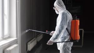 Atatürk Üniversitesinde Koronavirüs Temizliği Sürüyor