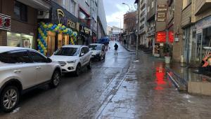 Erzurum'da sokaklar sessizliğe büründü