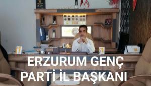 Genç Parti Erzurum İl Başkanı Öget'ten Çanakkale Zaferi Mesajı