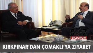 KIRKPINAR ÇOMAKLI'YI ZİYARET ETTİ