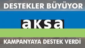 Aksa'dan Milli Dayanışma Kampanyası'na 5 milyon lira bağış