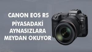 CANON EOS R5, AÇIKLANAN YENİ ÖZELLİKLERİ İLE PİYASADAKİ AYNASIZLARA MEYDAN OKUYOR