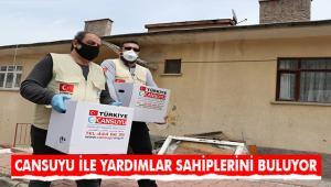 """Cansuyu Derneği'nden """"Evinize Sağlık"""" ve """"Hoşgelsin Ramazan"""" kampanyaları"""