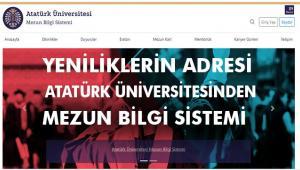 Atatürk Üniversitesi Mezunlarıyla İletişimini Güçlendiriyor