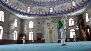 Cuma Namazı kılınacak camilerde temizlik seferberliği