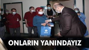 Sağlık Personeline Başkan Orhan'dan Moral Desteği