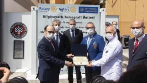 Türkiyen'nin ilk mobil tomografi cihazı hizmete girdi