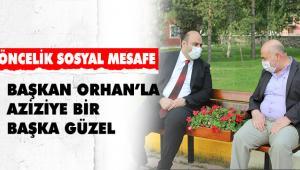 OTURMA BANKLARINA ÇİÇEKLİ SOSYAL MESAFE
