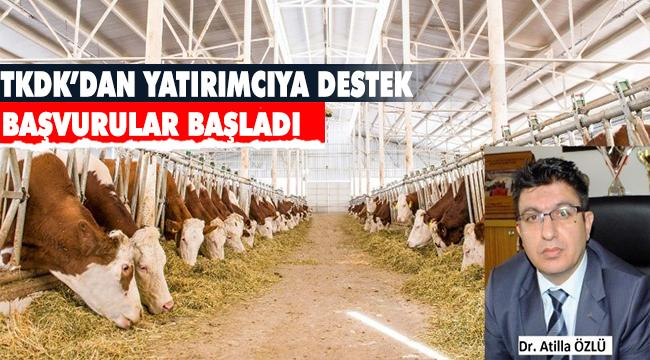 TKDK'dan Erzurum Tarım ve Hayvancılığına Hibe Desteği