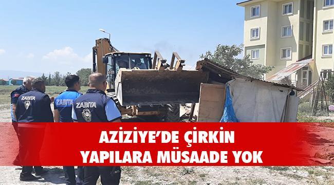 AZİZİYE'DE BARAKA OPERASYONU