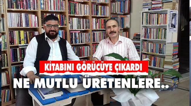 Erzurumlu Yönetmen ve Yazar Fırat Aksoy İmza günü düzenledi