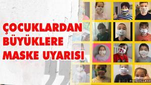 """eTwinning Projesi """"Sınıfa Sığmayan Hayaller"""" için Tasarladıkları Maskeleri le Mesaj Verdiler"""