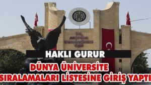 Atatürk Üniversitesinin İstikrarlı Yükselişi Devam Ediyor