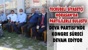 Deva Partisi Horasan'da Kongre yaptı