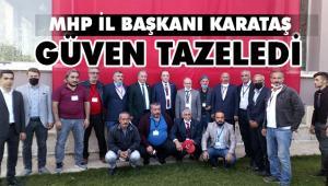 MHP'DE KARATAŞ'LA DEVAM