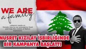 Türk Kızılay ve Nusr-Et'ten tüm dünyaya Beyrut'a destek çağrısı
