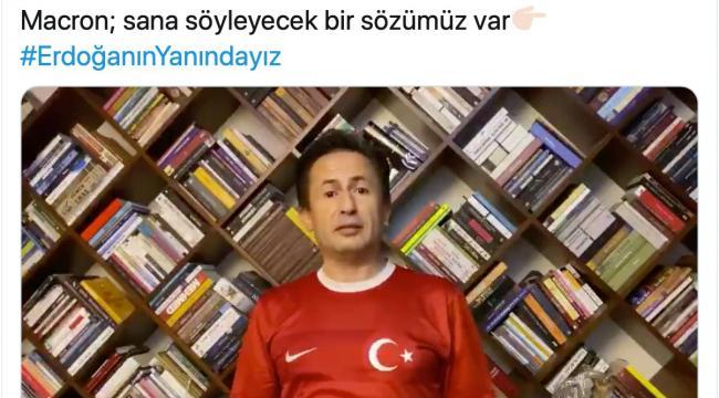 Tuzla Belediye Başkanı Dr. Şadi Yazıcı'dan Macron'a sert tepki