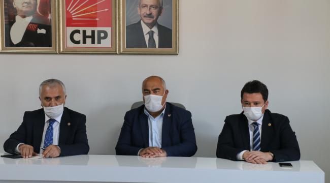 CHP MİLLETVEKİLLERİ ERZURUM'DA