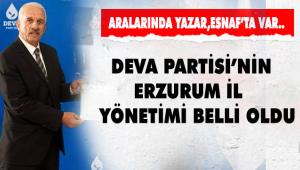 DEVA PARTİSİ'NDE YÖNETİM BELLİ OLDU