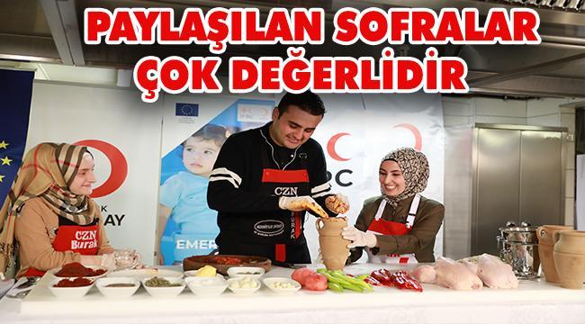 Kızılay'dan Dünya Gıda Günü'ne Özel Tarif