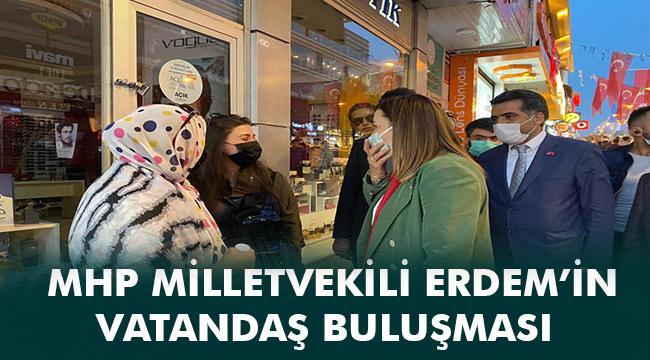 MHP İSTANBUL MİLLETVEKİLİ ARZU ERDEM ERZURUM'DAYDI