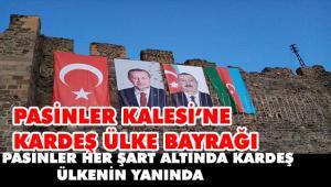 PASİNLER'DEN AZERBAYCAN'A DESTEK