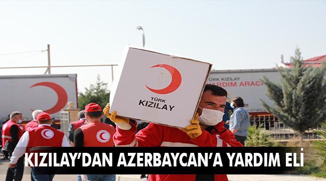 Yardım malzemeleri Azerbaycanlı ihtiyaç sahiplerine dağıtılıyor