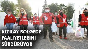 Kızılay Süzer İşbirliği ile Depremzede Çocuklara Giyecek ve Uyku Tulumu Desteği