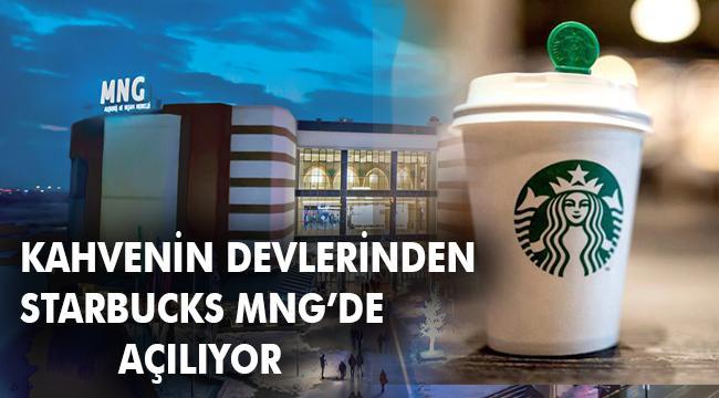 MNG AVM'nin Zengin Cafe karmasına Starbucks'ta eklendi