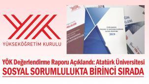 Atatürk Üniversitesi Sosyal Sorumluluk Projeleri Kategorisinde Türkiye Birincisi Oldu