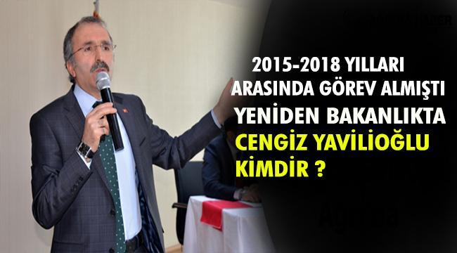 Bakan Yardımcılığına Atanan Cengiz Yavilioğlu kimdir ?