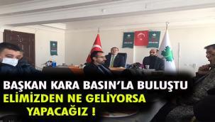 GELECEK PARTİSİ GAZETECİLERLE BULUŞTU