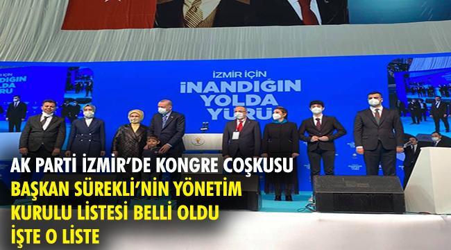 AK PARTİ İZMİR'DE KONGRE COŞKUSU