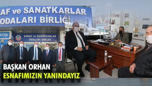 Başkan Orhan: Esnafımız bizim bel kemiğimiz
