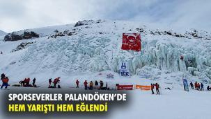 """""""Palandöken Fest"""" heyecan dolu etkinliklere sahne oldu"""