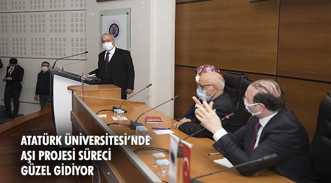 Aşı Çalışmalarıyla İlgili Bilgilendirme Toplantısı Gerçekleştirildi