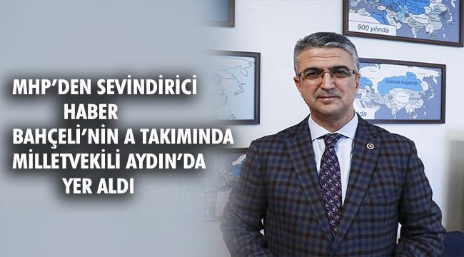 Kamil Hoca MHP Genel Başkan Yardımcılığı görevine getirildi