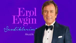 """Şarkıcı Erol Evgin Yeni Albümü """"Sevdiklerim"""" ile Dinleyicileriyle Buluşuyor!"""