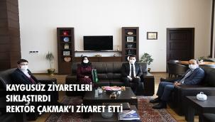 Yeşilay Erzurum Şubesi Yönetiminden ETÜ'ye ziyaret