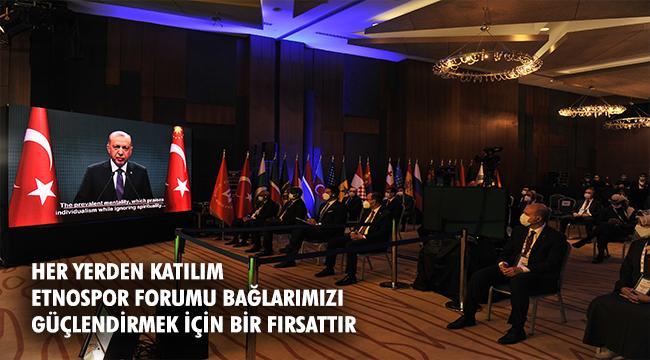 Etnospor Forumu Bu Yıl Çevrim içi Formatta Düzenlendi