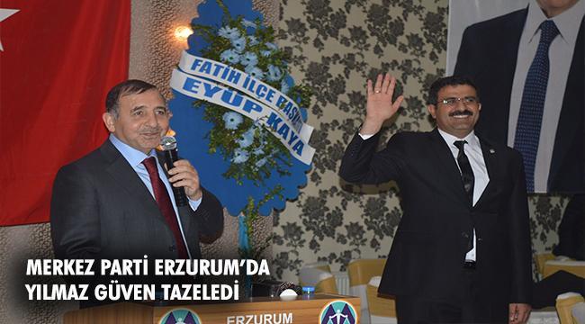 Merkez Parti Erzurum Olağan İl Kongresi yapıldı