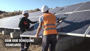 OGM'den 1 yılda 1 milyon TL'lik güneş enerjisi üretimi