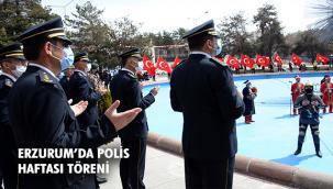 Türk Polis Teşkilatı'nın 176. Yıl Dönümü Erzurum'da Törenle Kutlandı