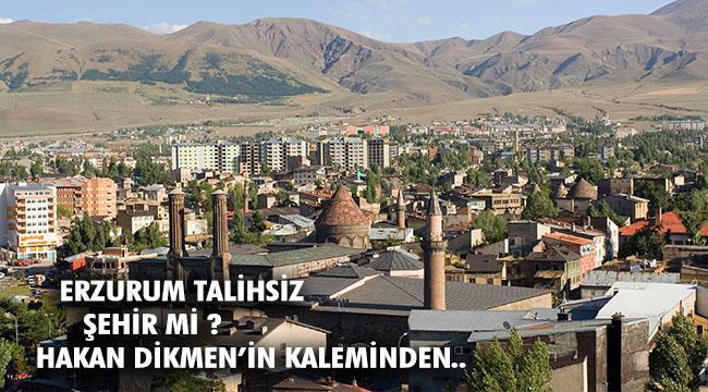 Erzurum çoğu konuya duyarsız olan kalabalıklar ile dolu