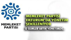 Memleket Partisi Erzurum'da hızlı başladı