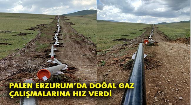 Erzurum'da 16 ilçeye doğal gaz arzı sağlayacak