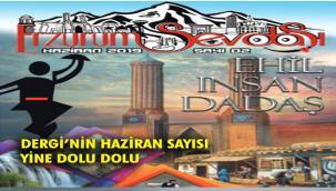 Erzurum Sevdası Dergisinin Haziran Sayısı Yayında